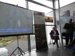 Shannon Callows farmers talking about farming floodplains